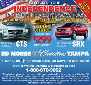 New Year = New Ride From Ed Morse Cadillac - JoeBucsFan ...