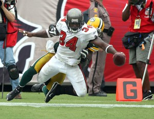 The Bucs running game disappeared with Earnest Graham