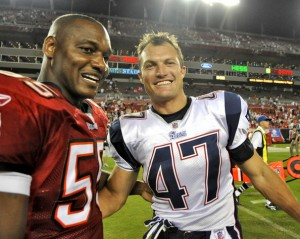 John Lynch says he's keeping a close eye on Derrick Brooks' replacement