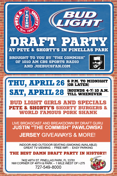 Join Joe For A Draft Party Tonight!