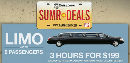 Clearwater Limo Deals, Tampa Limo Deals