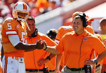 Josh Freeman and Greg Schiano