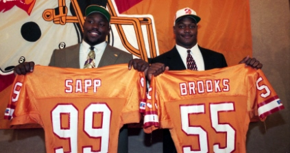 derrick brooks and warren sapp
