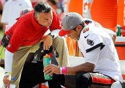 Bucs offensive coordinator Mike Sullivan believes quarterback Josh Freeman is significantly more advanced than a year ago.