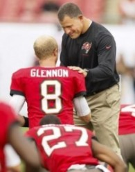 "Labeled ""a grinder"" by Greg Schiano, Mike Glennon is impressing one of his teammates in a big way."