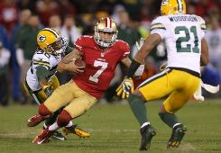 The 49ers are horrible passing the ball, but Joe thinks Colin Kaepernick is light years ahead of Mike Glennon.