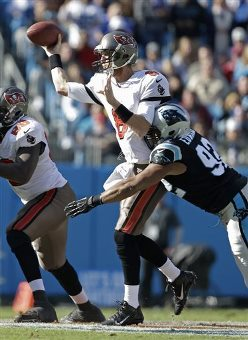 Losing in the trenches and letting the Stinking Panthers punish Bucs QB Mike Glennon led to a loss yesterday.