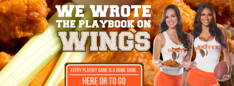 Click here and watch all the games at Hooters