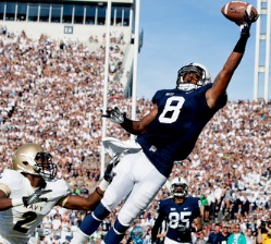 Penn State's Allen Robinson might be a nice play in the second round.