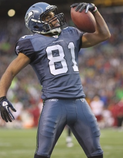 Golden Tate has golden hands.