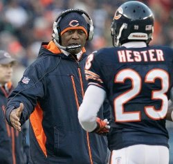 devin hester lovie smith