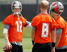 A Bucs QB is on the mark and impressing a key teammate