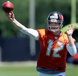 How long with the leash be on Josh McCown if he and the Bucs struggle out of the gate?
