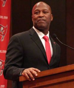 Lovie talks third round pick Charles Sims.
