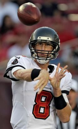 Chris Burke of SI.com seems to imply if you peek behind the smoke, Mike Glennon is your starting Bucs quarterback.