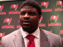 The Bucs hope Clinton McDonald's winning ways rubs off on his teammates.