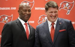 Bucs GM Jason Licht explained to a Phoenix radio station how tight he is with Bucs coach Lovie Smith.