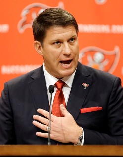 """Win now"" is the philosophy of Bucs GM Jason Licht."