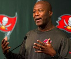 Bucs coach Lovie Smith wasn't upset the first practice of training camp was shortened by lightning.