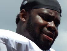 Bucs starting left guard Oneil Cousins