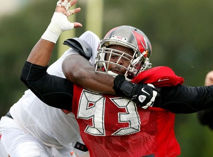 Gerald McCoy released frustration today