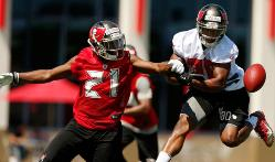 Bucs cornerback Alterraun Verner talks about his healing hammy