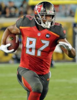 """Playing time will come."" Photo courtesy of Buccaneers.com."