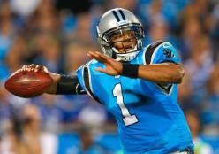 Stinking Panthers QB Cam Newton is not healthy.