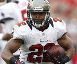 Bucs RB Doug Martin had a scant eight yards of offense in his return from an injury-shortened season.