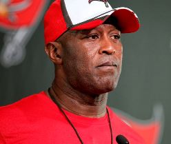 Bucs coach Lovie Smith is not happy with his stable of linebackers.