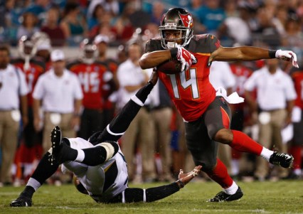 Bucs WR Robert Herron closed training camp on an upswing and could be in the mix as a slot receiver.
