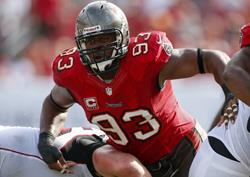Bucs DT Gerald McCoy leads what should be a strong defense.