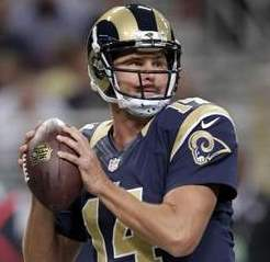 Lambs starter Shaun Hill was limited in practice today and Lambs coach Jeff Fisher declared him a gameday decision.