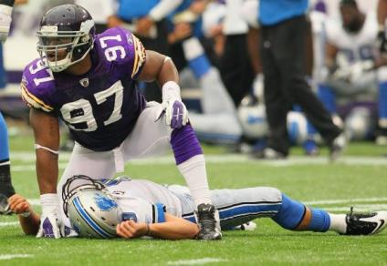 Interestingly, Vikings coach Mike Zimmer, who came from Cincinnati, dropped a lot of cash on DE Everson Griffen, in his first season as a full-time starter, rather than signing his former protege, Michael Johnson.