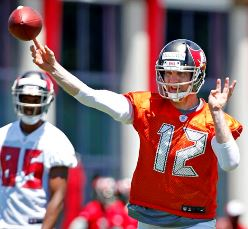 From the words and body language of Bucs acting offensive coordinator Marcus Arroyo today, it sure seems like QB Josh McCown won't be ready to play Sunday.