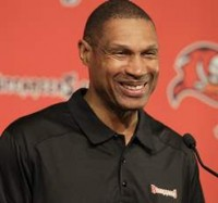 Bucs DC Leslie Frazier talks about the defense stepping up.
