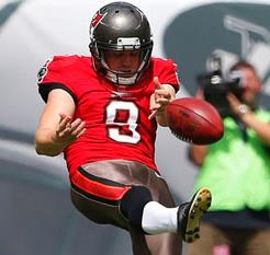 Bucs punter Michael Koenen is last in the NFL in average yards per punt.