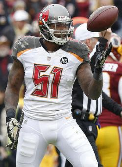 Bucs OLB Danny Lansanah will have competition this summer.