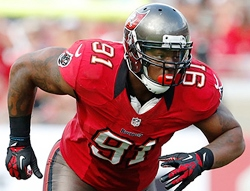 Bucs DL Da'Quan Bowers has two more games left in his Bucs contract. Will there be more?
