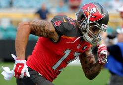 Bucs WR Mike Evans is busting his tail, said a respected teammate.