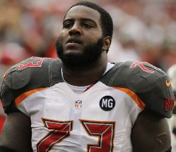 "Hard to imagine Bucs OT Anthony Collins ""falling"" because he has just about hit rock bottom already."