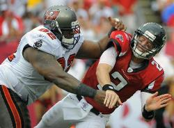 Former Bucs DT Brian Price never recovered fully from a freak injury early in his rookie year.