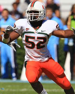 Miami linebacker Denzel Perryman will not play for the Bucs simply because he cannot defend the pass.