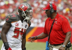 Bucs LB coach Hardy Nickerson said he is always looking for an edge to improve.