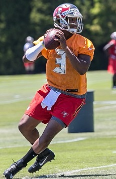 a19dd0c5a4b Spreadsheet types at One Buc Palace are all amped up by the numbers of  Jameis Winston jerseys being gobbled up.