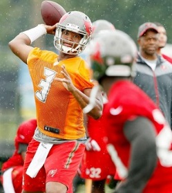 Big rookie numbers expected. Photo courtesy of Buccaneers.com.