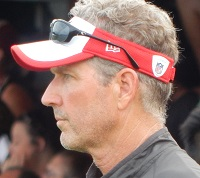 Offensive coordinator Dirk Koetter is coming off an amazing season