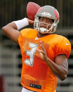 No rest for Jameis. Photo courtesy of Buccaneers.com.