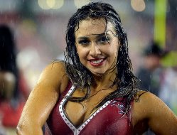 Don't blame the rain for the Bucs stinking out loud.