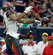 The ability to haul in passes by WR Mike Evans would sure help out the Bucs today.